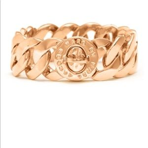 Mac Jacobs rose gold bracelet  (larger sized one)